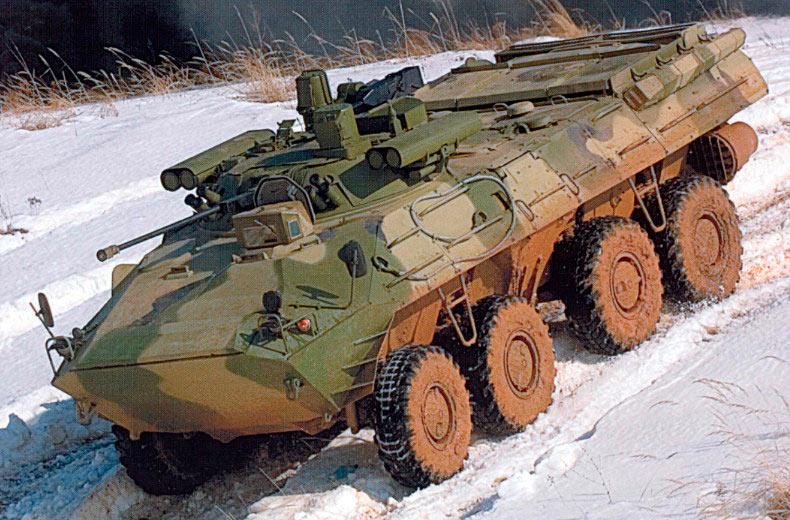 Бронетранспортер БТР-90 в модификации «Бережок»