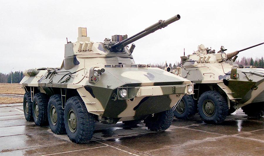Бронетранспортер БТР-90М с боевым модулем «Бахча-У»