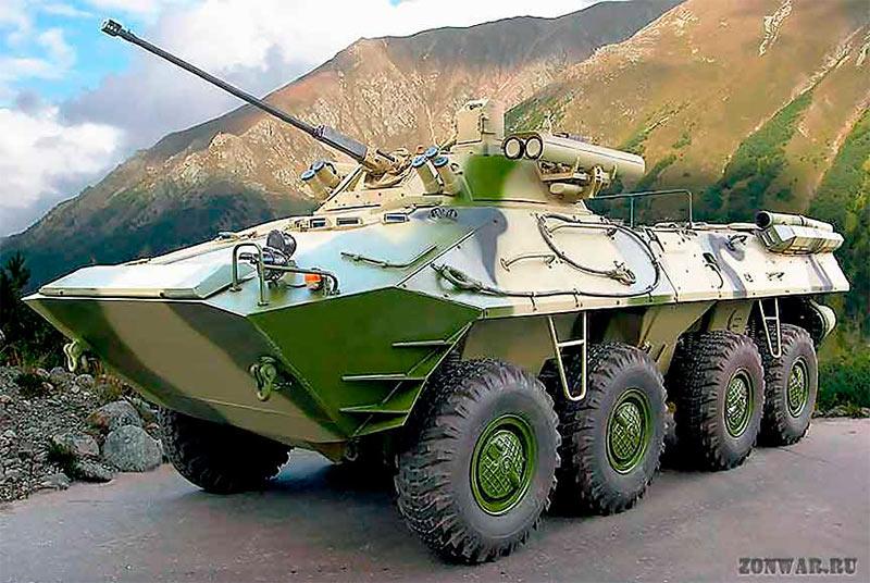 БТР-90 «Росток».