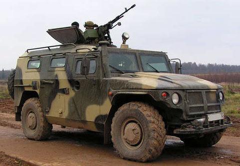 Специальное техническое средство ГАЗ-233014 «Тигр»