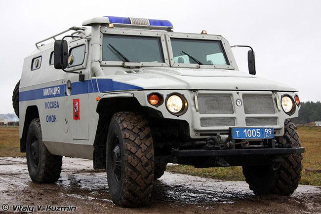 Полицейский вариант ГАЗ-233036 «Тигр»
