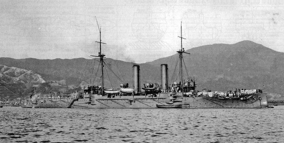 Крейсер «Токива» типа «Асама», 1906 г.