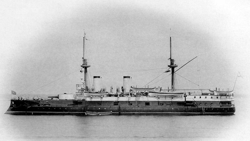 Эскадренный-броненосец-«Император-Николай-I»-в-Средиземном-море
