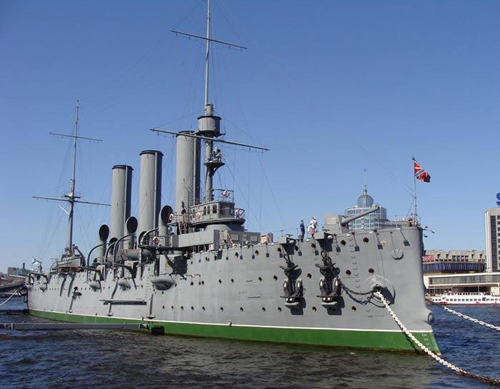 Крейсер 'Аврора', наши дни