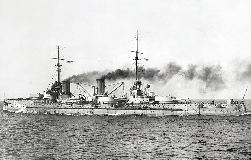 Немецкий линейный крейсер первой мировой войны Фон дер Танн
