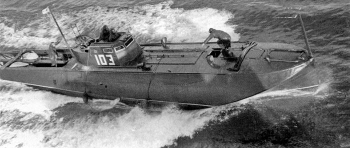 Торпедный катер типа Ш-4.