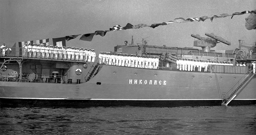 Большой противолодочный корабль проекта 1134Б «Николаев»