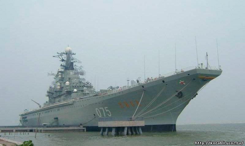 Тяжелый авианесущий крейсер «Киев» - головной корабль серии