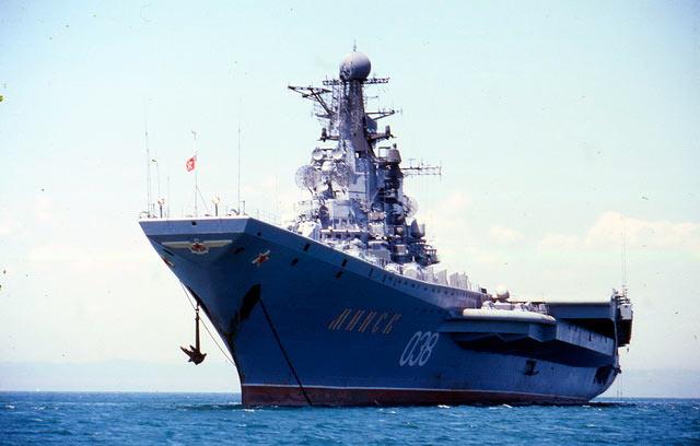 Тяжелый авианесущий крейсер «Минск»