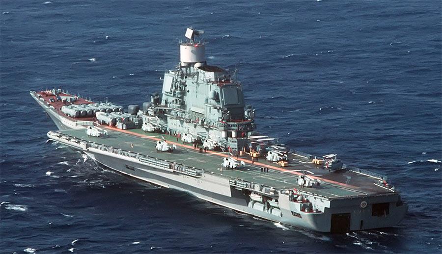 «Адмирал Горшков» или «Баку» - советский тяжелый авианесущий крейсер