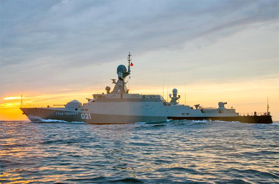 Малые ракетные корабли проекта 21631 «Буян-М»