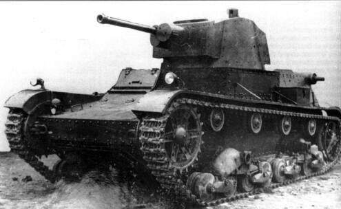 Польский легкий танк 7ТР