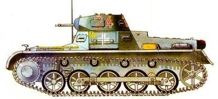 Легкий танк Pz.I (Sd.Kfz.101)