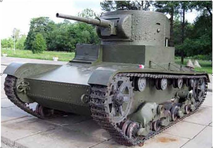 Легкий танк Т-26 (СССР)