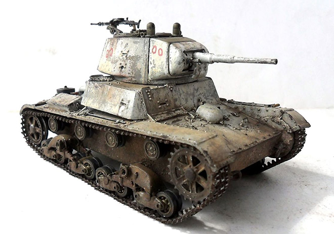 Т-26 с конической башней