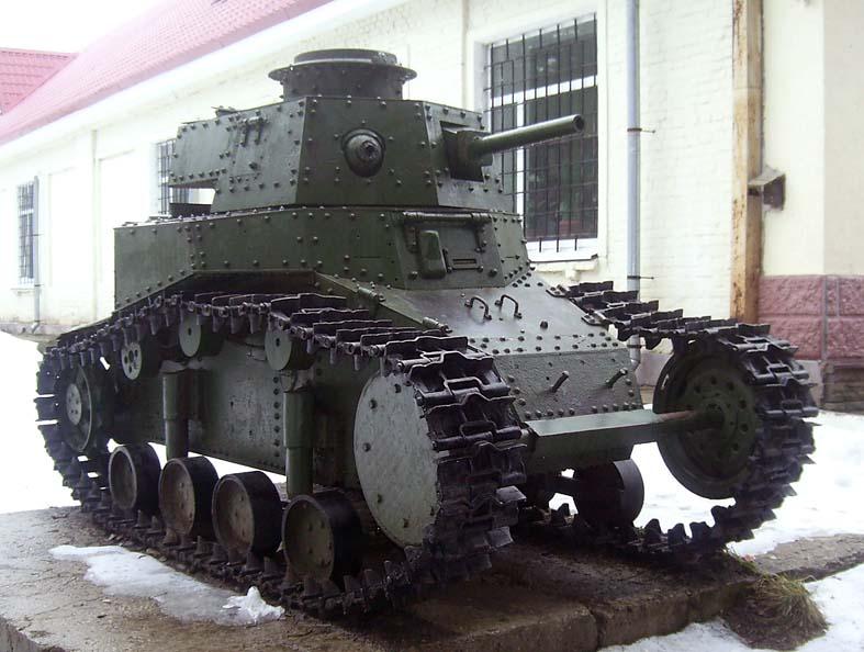«Первый советский» танк МС-1 (Т-18), история создания и службы