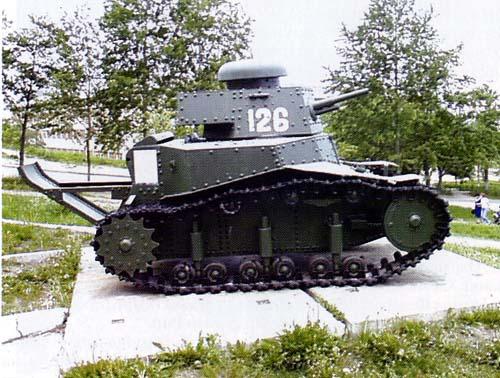 МС-1 (Т-18) поздних сейрий (образца 1930)
