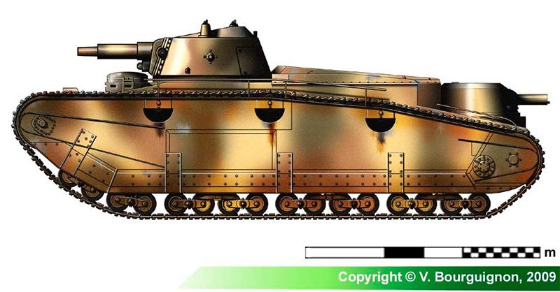«Grosstraktor I» от фирмы «Даймлер», в котором явно просматриваются контуры танков Первой Мировой войны