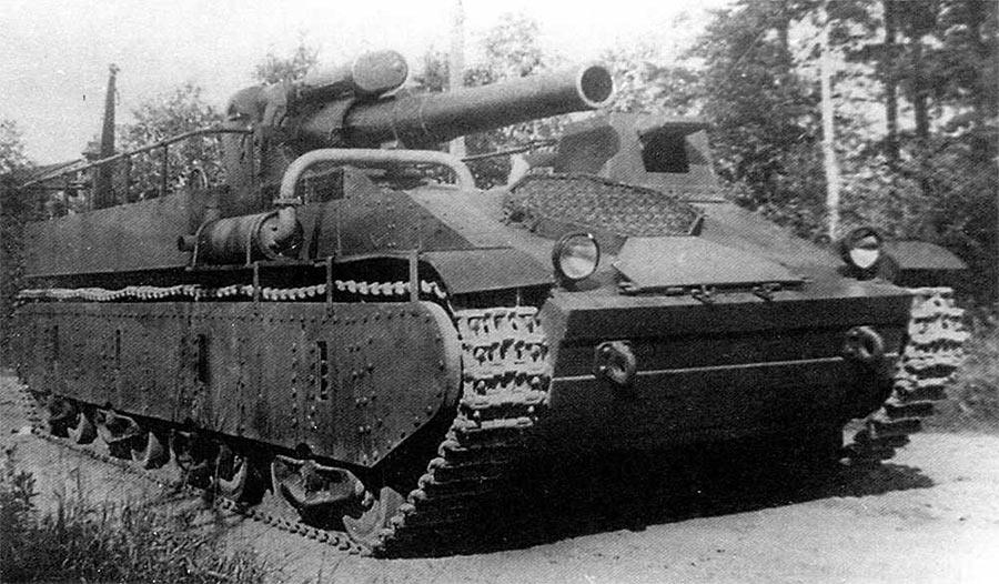 САУ СУ-14 с 203-мм гаубицей Б-4