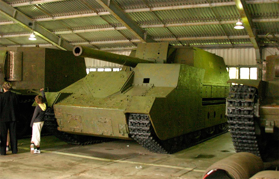 СУ-14 в музее бронетанковых войск в Кубинке