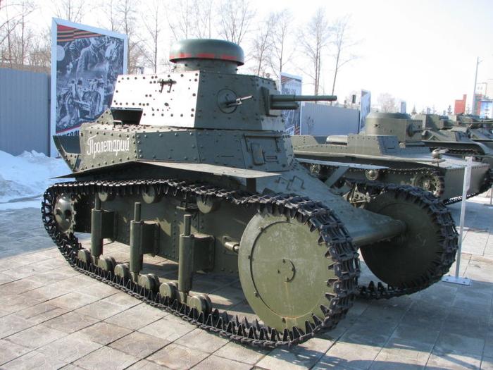 Советский танк Т-20 или «улучшенный Т-18» (МС-1)