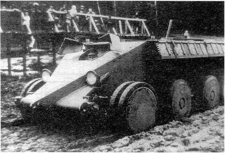 Танк Кристи в Кубинке. 1931 год