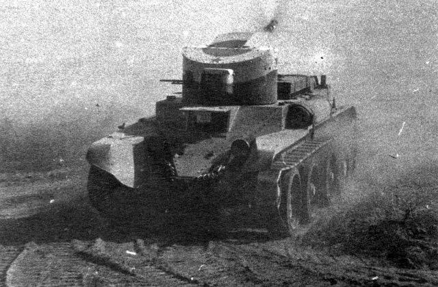 пулеметный БТ-2