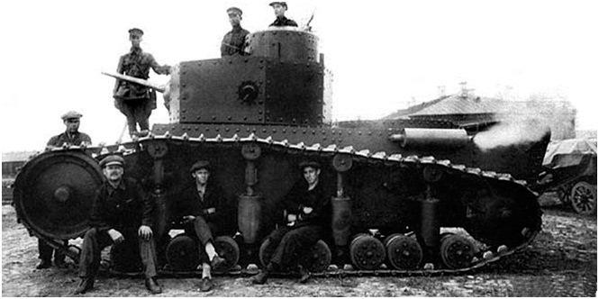 Опытный танк Т-12
