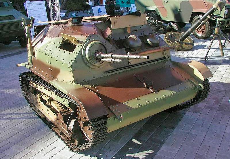 Танкетки TK-3 TKS