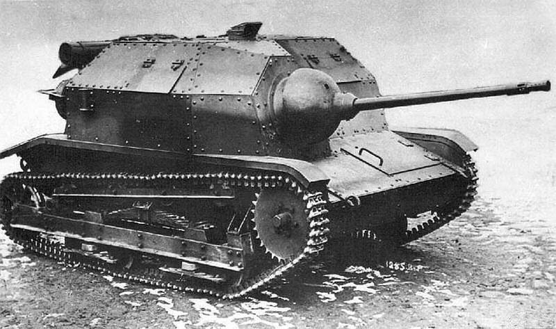 Та самая танкетка TKS с 20-мм орудием