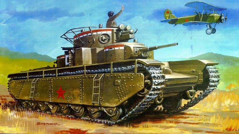 Тяжелый танк Т-35 (СССР)