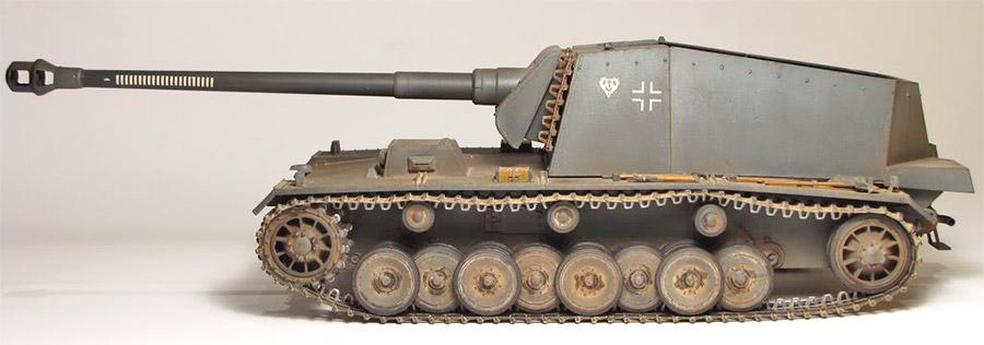 Немецкий тяжелый истребитель танков 128-мм «Sturer Emil»