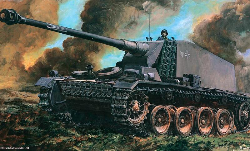 Истребитель танков 12,8cm Selbstfahrlafette auf VK3001(H) «Sturer Emil»
