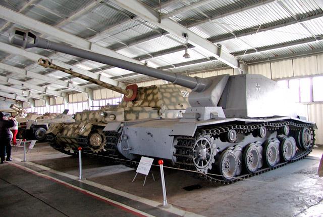 Единственный сохранившийся экземпляр «Sturer Emil» в танковом музее в Кубинке