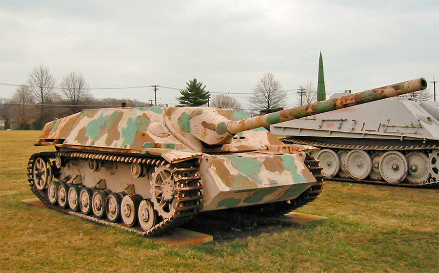 Немецкий истребитель танков Jagdpanzer IV на базе танка Pz.IV
