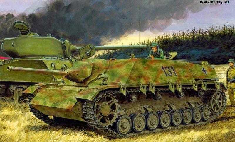 Истребитель танков Jagdpanzer IV (Sd.Kfz.162)