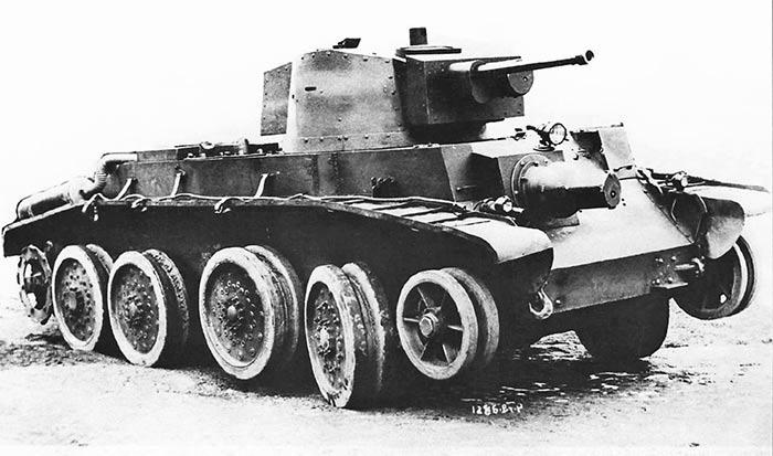 танк 10TP на колесном ходу