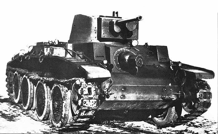 танк 10TP на гусеничном ходу