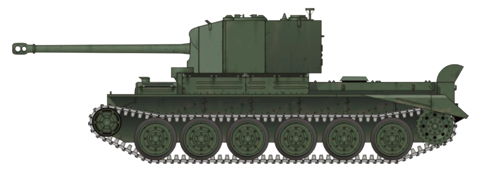 Крейсерский танк Challenger (А30)