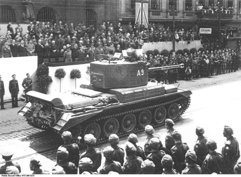 Британский <a href='https://arsenal-info.ru/b/book/3274749971/6' target='_self'>крейсерский танк</a> A30 'Челленджер'