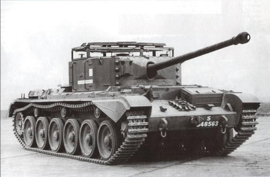 Британский <a href='https://arsenal-info.ru/b/book/3274749971/6' target='_self'>крейсерский танк</a> A30 'Авенджер'