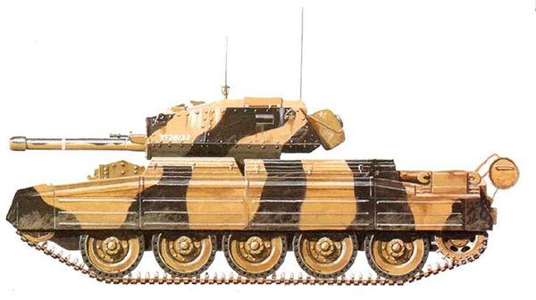 Крейсерский танк Mark VI (А15) Crusader