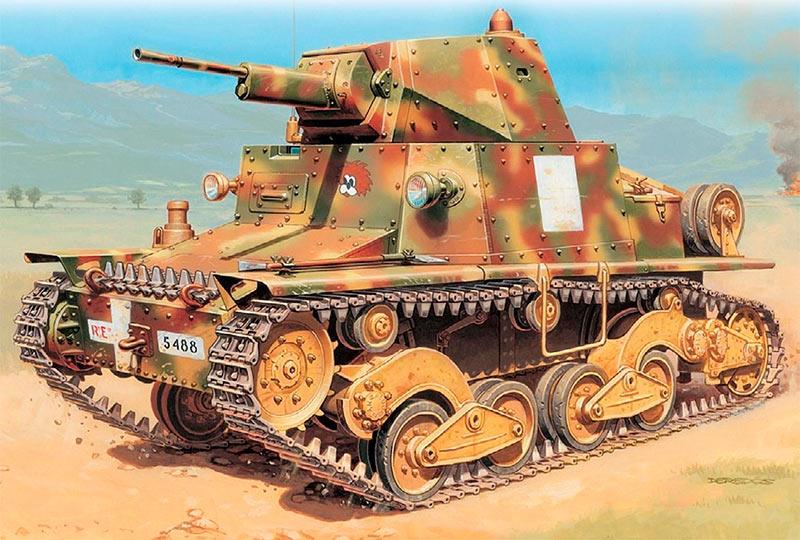 Легкий танк L6/40 (Италия)