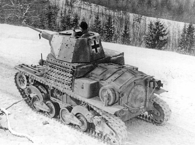 Итальянский легкий танк L6/40