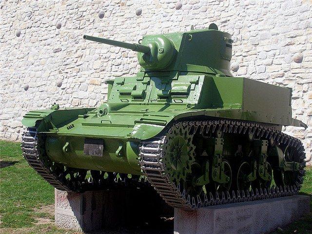 Легкий танк М3 Стюарт