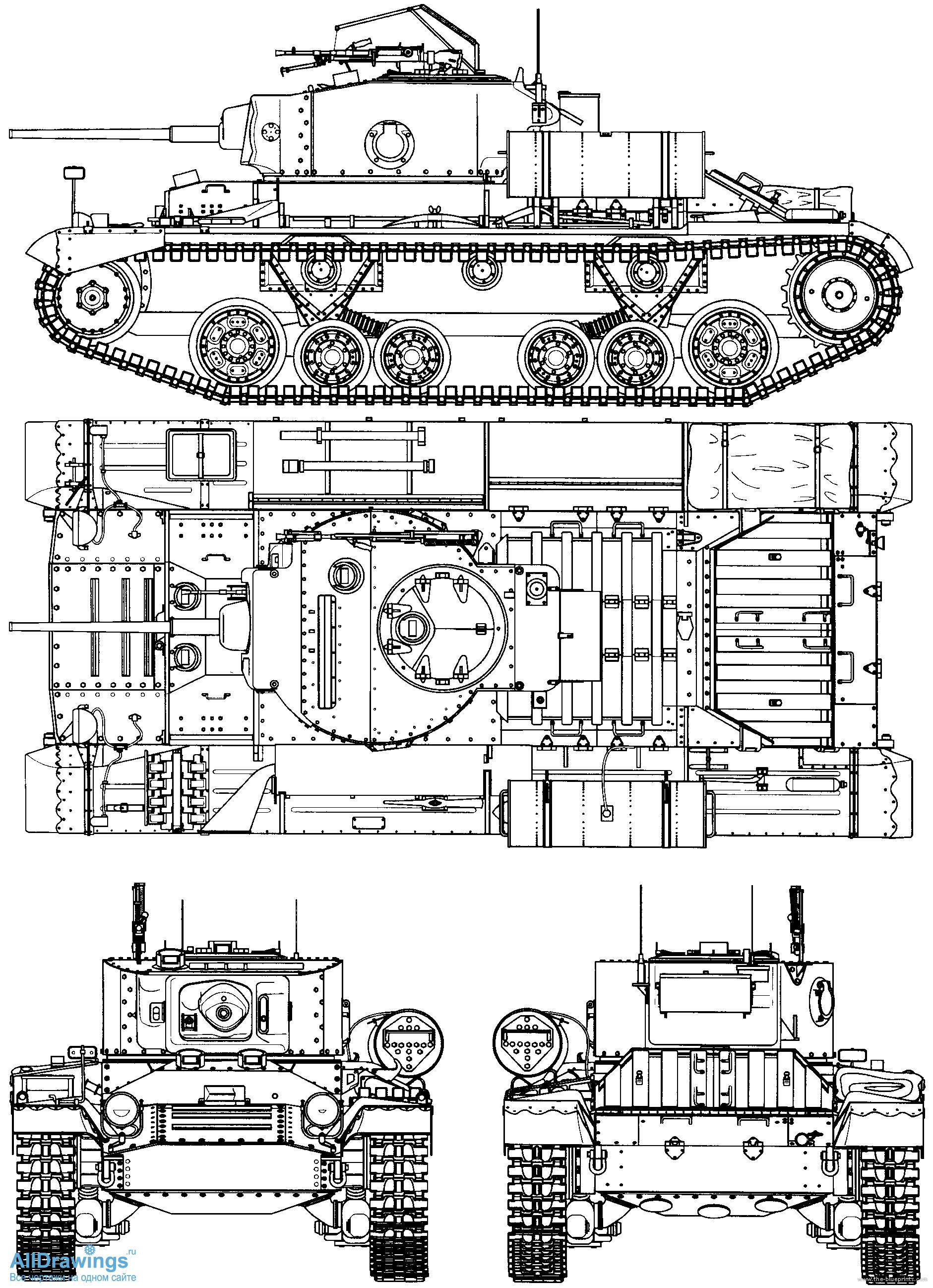 Легкий танк Mk.III 'Валентайн' (Valentine)
