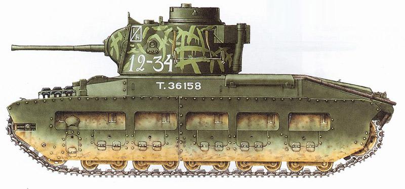 Пехотный танк Mark II «Матильда»
