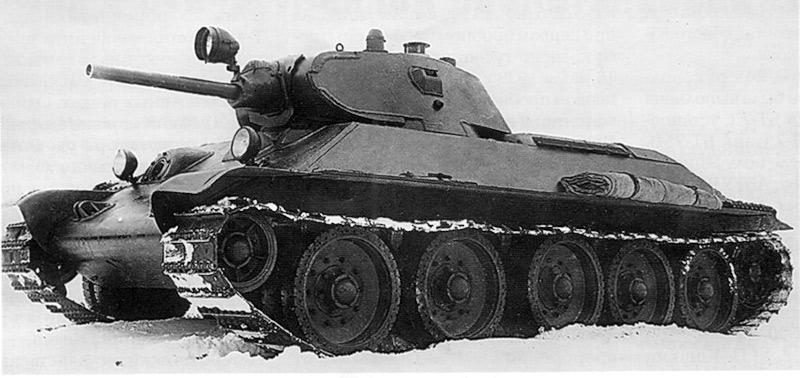Это ещё А-34 или уже Т-34?