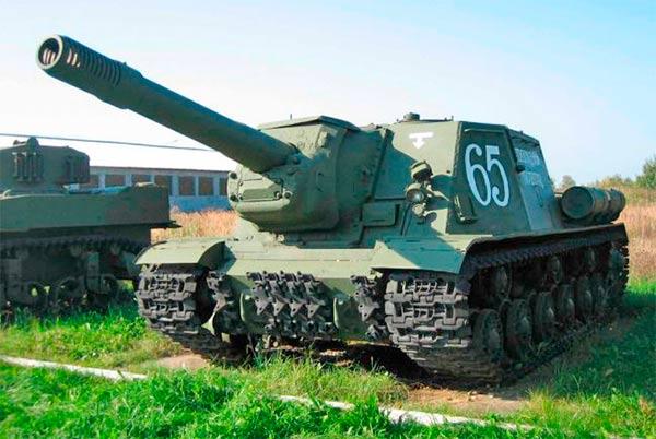Самоходная артиллерийская установка ИСУ-152 «Зверобой» (СССР)
