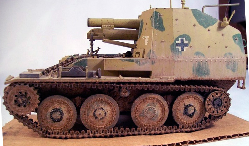 Самоходная пехотная пушка Sd.Kfz. 138/1 «Grille» (модель)